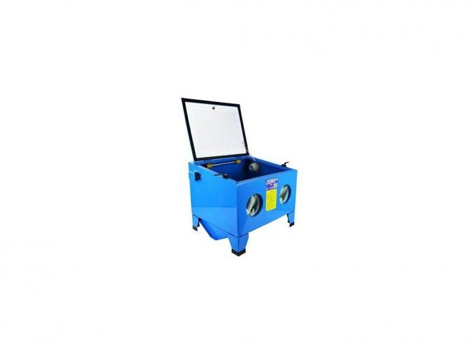 Pískovací box 90L / 230V / 7bar