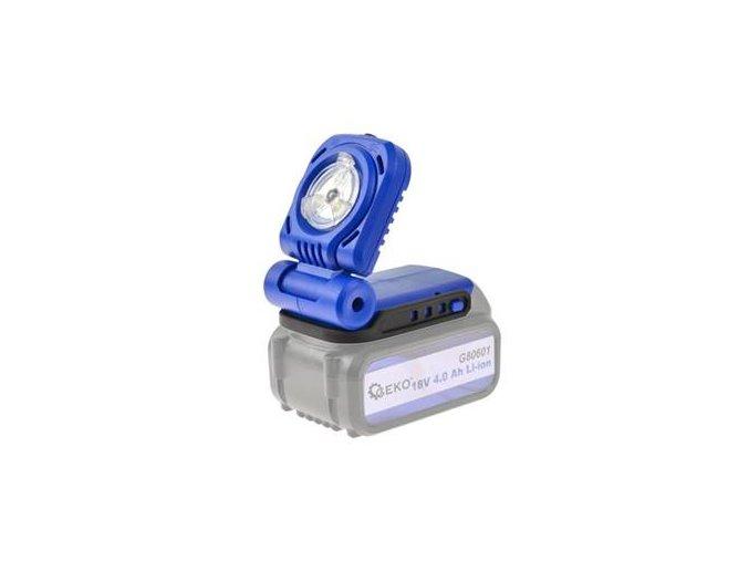 Pracovní LED lampa na baterie 18V
