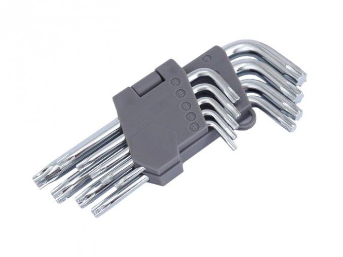 Sada klíčů TORX 9ks