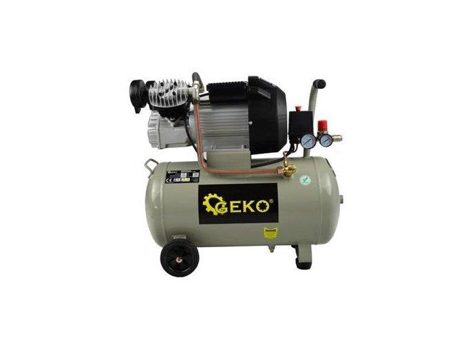 Kompresor 50L Dvojpiestový - olejový Geko