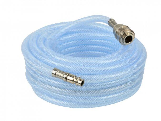 Pneumatická hadice kompresoru gumová PVC 10m 6mm G02975