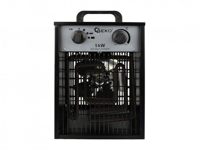 Elektrický ohřívač 5kW s vestavěným termostatem + ventilátor G80402