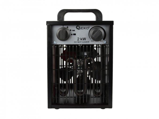 Elektrický ohřívač 2kW s vestavěným termostatem + ventilátor G80400