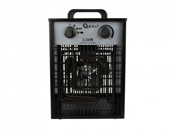 Elektrický ohřívač 3,3kW s vestavěným termostatem + ventilátor G80401