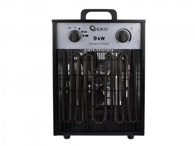Elektrický ohřívač 9kW s vestavěným termostatem + ventilátor G80404