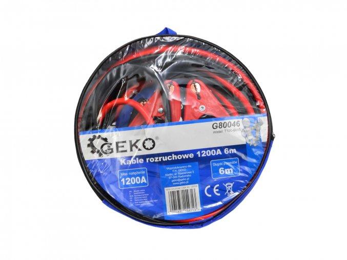Startovací kabely 1200A 6m G80046