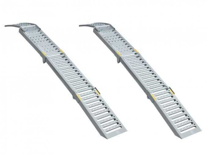 Skládací rampy do 2200 kg 2 ks