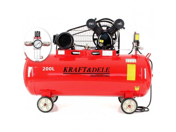 kompresor olejowy 200l kd1473 (5)