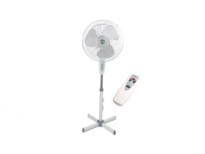Stojanový ventilátor 45cm s oscilací + dálkový ovladač