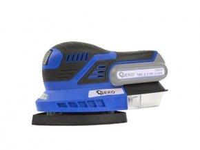 Akumulátorová Vibrační bruska GEKO - G80619