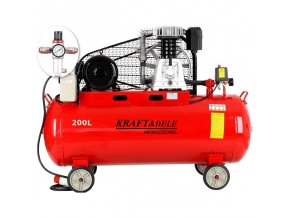 Kompresor 200l olejový 2-pístový 400V KD1475