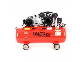 Kompresor 200l olejový 2-pístový 400V KD407
