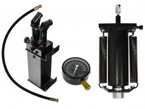 Sestava k lisu 50T s dvourychlostní pumpou GEKO
