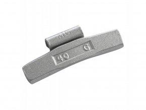 Naklepávací ocelové závaží - FE ALU - 40G/ 50ks