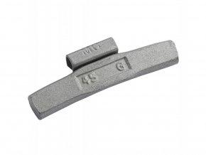 Naklepávací ocelové závaží - FE ALU - 45G/ 50ks