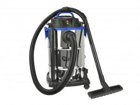 Průmyslový vysavač 30L (suché/mokré vysávání)