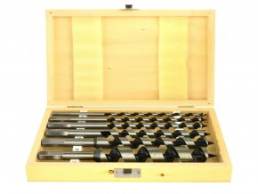 Sada vrtáků do dřeva 6-25mm/ 230mm 6ks GEKO