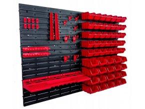 Stena na náradie 115x78 cm + 50 boxov 3