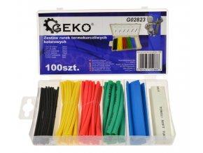 Zmršťovacie bužírky farebné 100ks G02823 (1)