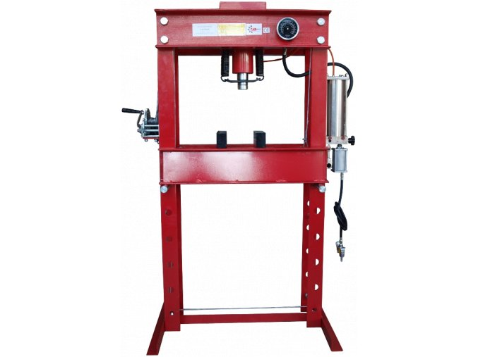 Hydraulický lis 50T - hydraulicko-pneumatická pumpa