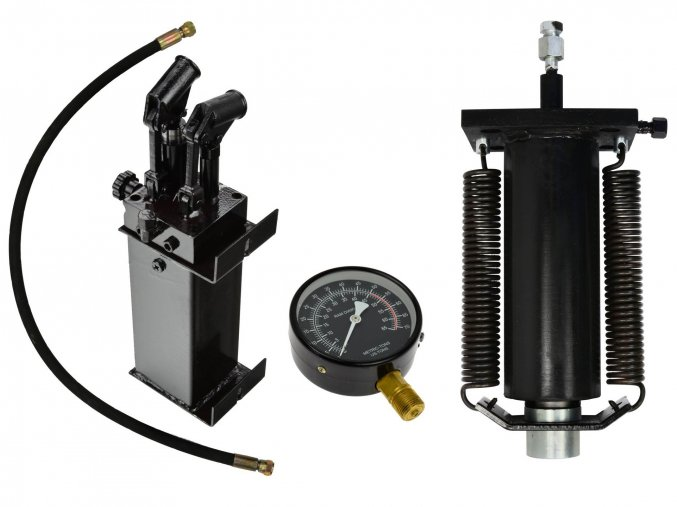 Zostava k lisu 50T s dvojrýchlostnou pumpou GEKO