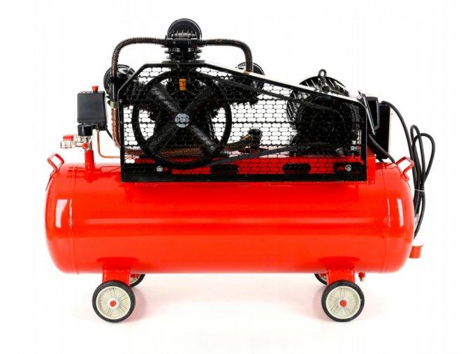 Kompresor 100L olejový 3 piestový 400V KD405 (9)