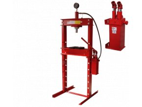 Hydraulický lis 20T - dvojrýchlostná pumpa
