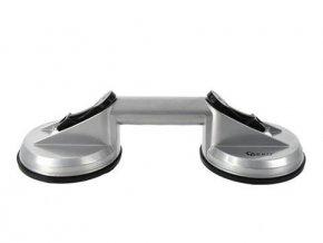 Držiak - prísavka 2x115mm hliníková