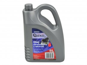 Kompresorový olej L-DAA100 GEKO 5L