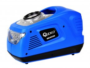 Mini kompresor 12V / 230V 100 W so svetlom LED