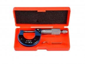 Analógový mikrometer 0-25 mm 0-01 mm