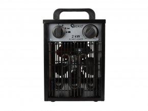 Elektrický ohrievač 2kW so vstavaným termostatom + ventilátor G80400