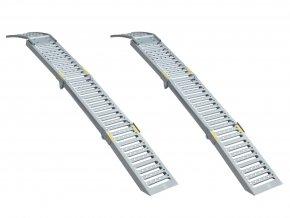Skladacie rampy do 2200 kg 2 ks