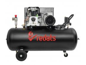 Kompresor 200l olejový 2 piestový 3kW 400V Redats T 200 (1)