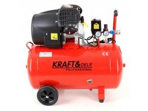 Kompresor 100L olejový 3kW 230V KD1483 (1)