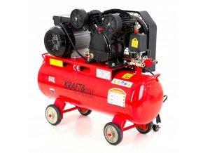 Kompresor 50L olejový 2 piestový 230V KD403 (4)