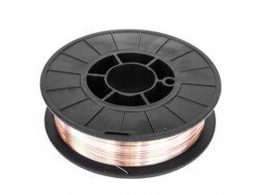 Zvárací drôt 0,8 mm meď 5kg cievka (3)