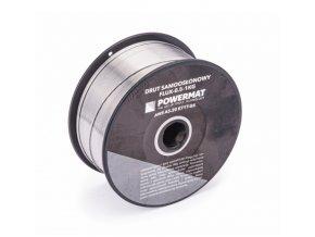 Zvárací drôt trubičkový 0,8 mm FLUX 1kg (4)
