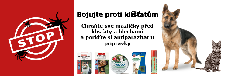 Antiparazitika pro psy, kočky