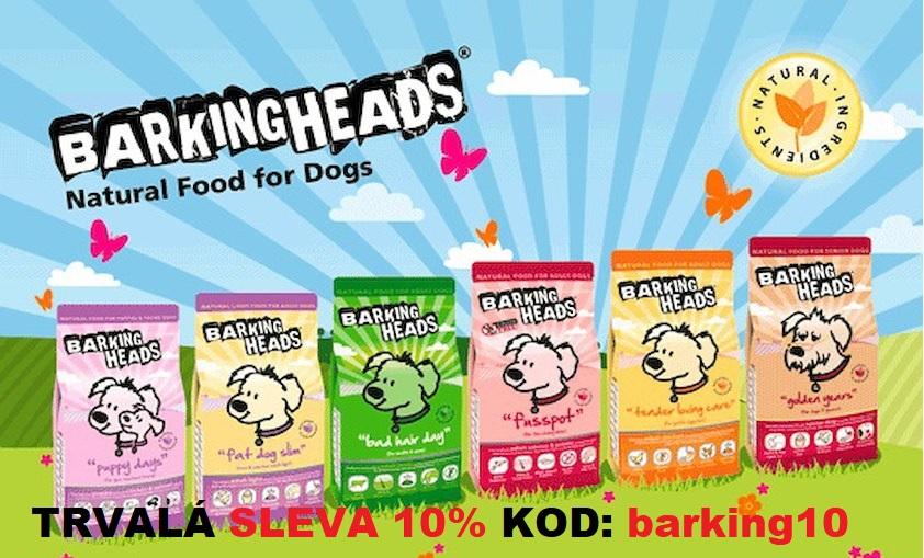 BarkingHead sleva 10%