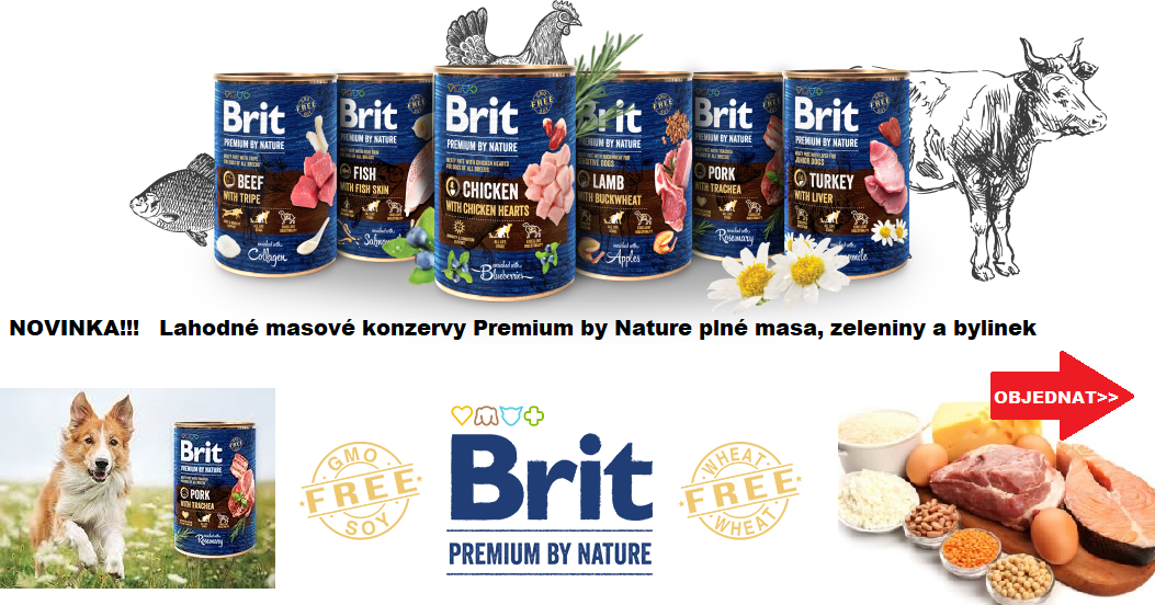Konzervy Brit Premium by Nature
