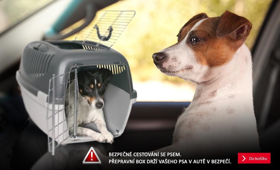 Přepravní box pro psy levně, 4% sleva