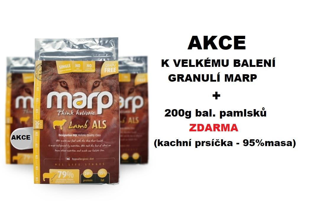 Marp+200g pamlsku zdarma