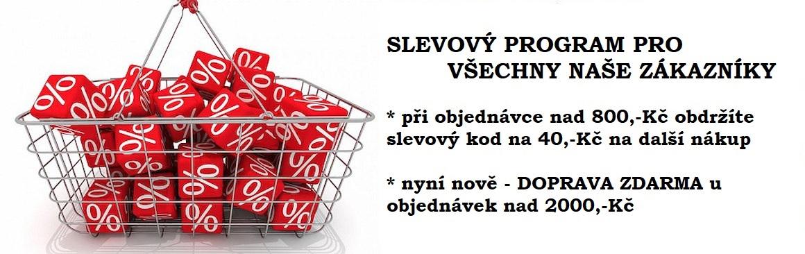 Slevy na nákupy