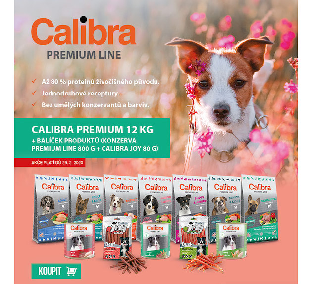 Calibra Premium+konzerva+pamlsky joy