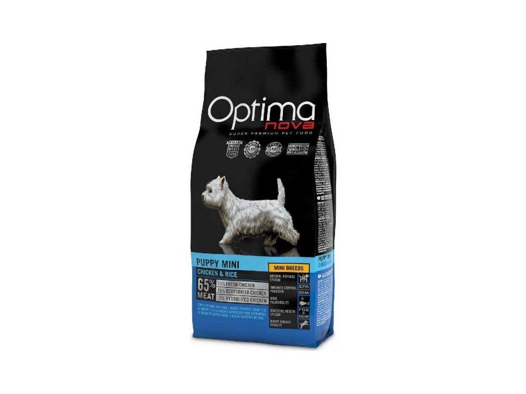 OPTIMAnova dog PUPPY MINI 2kg  sleva 2% při registraci