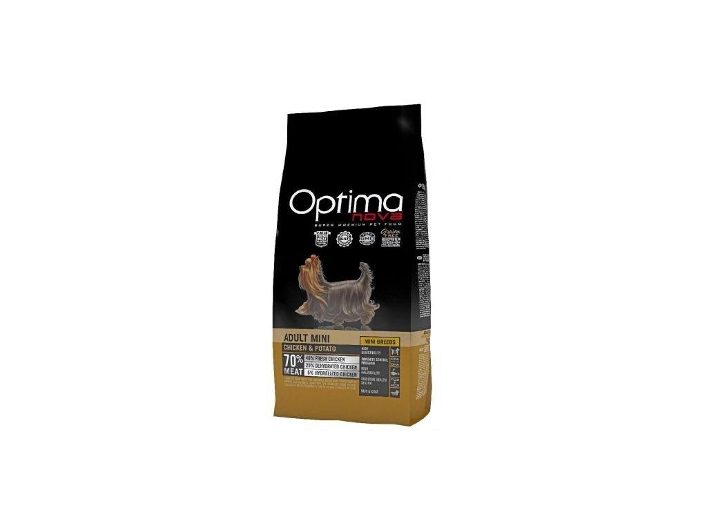 OPTIMAnova dog ADULT MINI GF Chicken 8kg  + Dárek křupavé sušenky ZDARMA