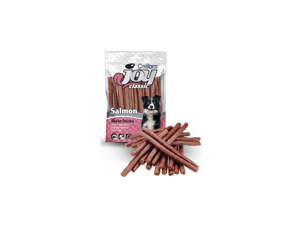Calibra Joy Dog Classic Salmon Sticks 80g  Vysoce kvalitní masový pamlsek pro psy