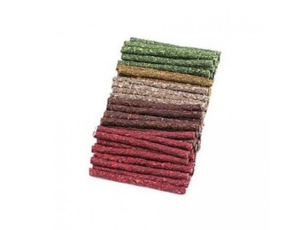 Lisovaná tyčinka - mix barev 9-10mm/12cm,  bal.100ks
