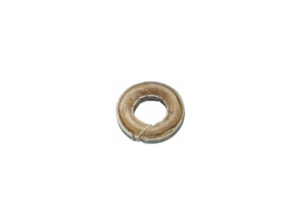 Kolečko s dírou z buvolí kůže 60g/7cm